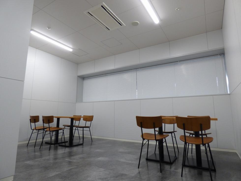 休憩室(事務所)